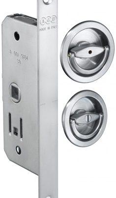 Cerradura puerta plegable AGB Sistemas Dueto