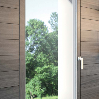 Artech Plana herraje oculto de ventana oscilobatienet de madera coplanarea AGB Sistemas
