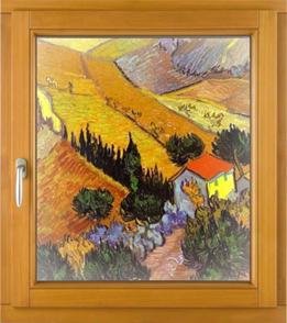 Secret herraje oculto de ventana oscilobatienet de madera coplanarea AGB Sistemas