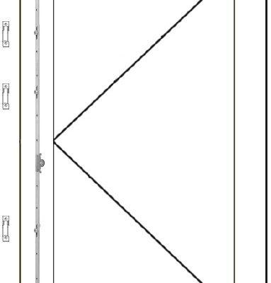 Ventana practicable de una hoja de madera AGB Sistemas